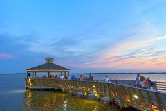 Tale of the Whale Restaurant -  Gazebo with Views of the Roanoke Sound