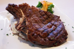 16oz Bone-in Ribeye - also called a Cowboy Steak- only Choice - 21 day aged beef