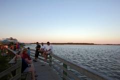 Evenings overlooking the Roanoke Sound